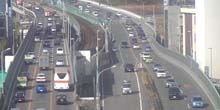 Webcam Osaka - Traffic on the bridge