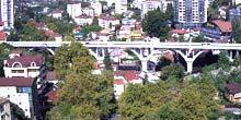 Webcam Sochi - Vereshchaginsky bridge