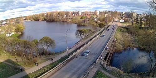 Webcam Nelidovo - Bridge over the Semikovka river, Pervomayskaya street