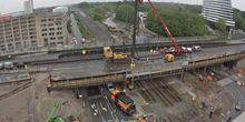 Webcam Groningen - Bridge construction