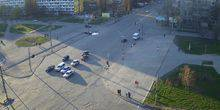 Webcam Dnepr (Dnepropetrovsk) - Glory Boulevard - Heroes Avenue