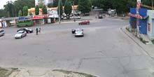 Webcam Kharkov - bus stop Buchma
