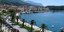Bay on the Adriatic sea Makarska