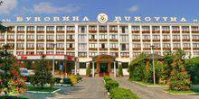 Webcam Chernivtsi - The Central entrance of the hotel Bukovina