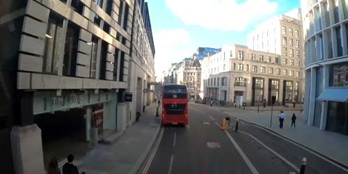 Webcam London - Ride on a double decker bus