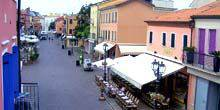 Webcam Caorle - Cafe in the historical center