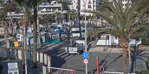 Webcam Benidorm - Camping Cap-Blanch
