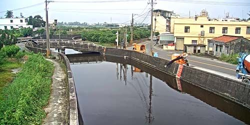 Webcam Kaohsiung (Taiwan Island) - Water canal in Pingdong province