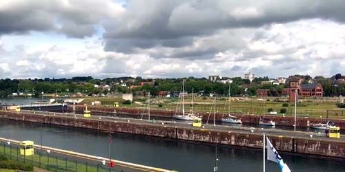 Webcam Keel - Entrance to the North Baltic (Kiel) Canal