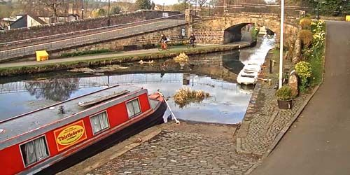 Webcam Edinburgh - Union Canal at Linlithgow
