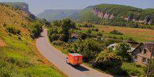 Webcam Road in the Belbek Canyon