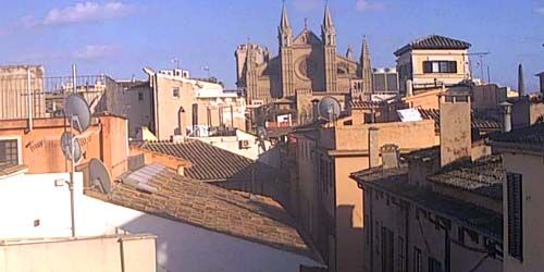 Webcam Palma (Mallorca Island) - Palma Cathedral