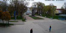 Webcam Sumy - Street Cathedral, Park of T. G. Shevchenko
