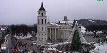 Webcam Vilnius - Cathedral square