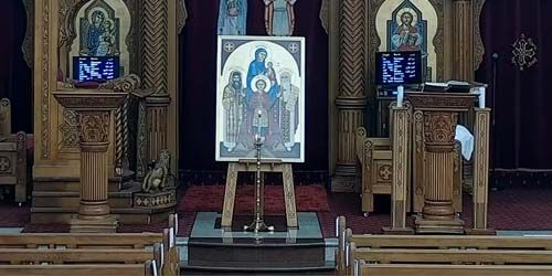 Webcam Sydney - Coptic Orthodox Cathedral of St. Mary and St. Mina