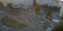Webcam Braila - The ring in front of the cathedral