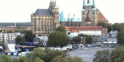 Webcam Erfurt - Cathedral Square
