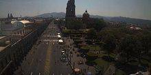 Webcam Morelia - Cathedral in the center