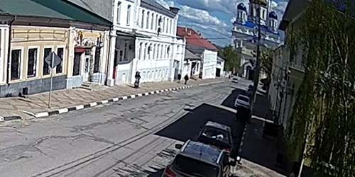 Webcam Yelets - Ascension Cathedral, Kommunarov Street