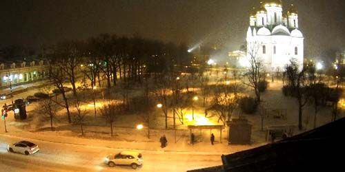 Webcam Saint Petersburg - Cathedral Square in Pushkin