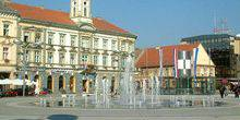 Central square Osijek