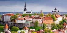 Webcam Tallinn - Center of the city from height of bird's flight