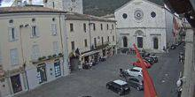 Webcam Gualdo Tadino - Central City Hall