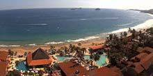 Webcam Zacatecas - Central beach in the village of Ixtapa