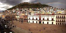 Webcam Zacatecas - central square