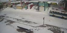Webcam Voznesensk - Central street, a view of the Temple