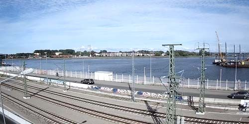 Webcam Rostok - Channel from Brightling Harbor to the Baltic Sea