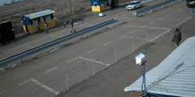 "Webcam Nova Kakhovka - The border crossing point ""Chaplynka"""