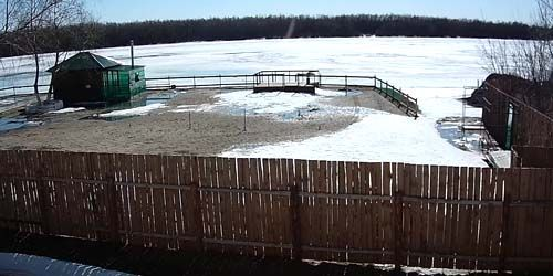 Webcam Omsk - Irtysh river in the working village Cherlak