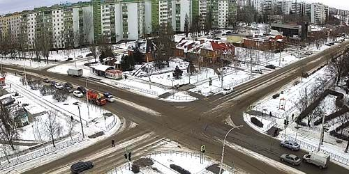 Webcam Volgodonsk - Chernikova street, Cinderella shopping center