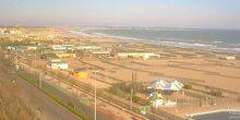 Webcam Venice - View of the beach from the Park Hotel Chioggia