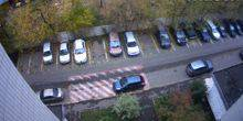 Webcam Moscow - Parking on Chukotka Avenue