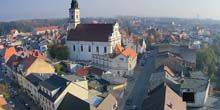 Webcam Wolsztyn - Parish Church on Robert Koch Street