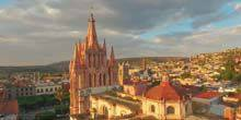 Webcam San Miguel de Allende - Allende Garden, La Parroquia Catholic Church