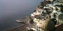 Webcam Positano - View of the beautiful beach
