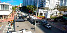 Webcam Miami - Collins Avenue, South coast