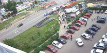 Webcam Kharkov - Metro Heroes of Labor, shopping center Cosmos