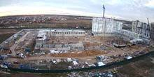 Webcam Moscow - Construction site on New Vatutinki