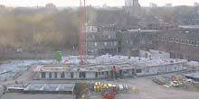 Webcam Hertogenbosch - Construction of a house