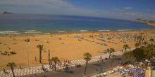 Webcam Valencia - The coast with the beaches of the Costa Blanca