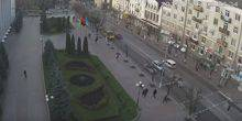 Webcam Kropyvnyts'ke (Kirovohrad) - The square in front of city Council