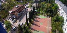 Football and basketball court Tuapse