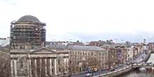 Webcam Dublin - Four Courthouse, Bridges over the Liffey River