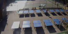 Webcam Moscow - Tennis courts and tables in Sokolniki Park