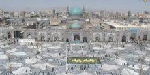 Webcam Mashad - The main courtyard of the Imam Reza Mausoleum