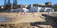 Webcam Sydney - The beach at Cronulla